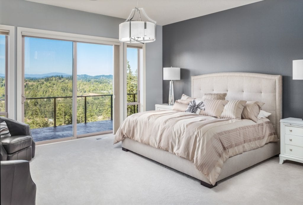 Two-Tone Master Bedroom